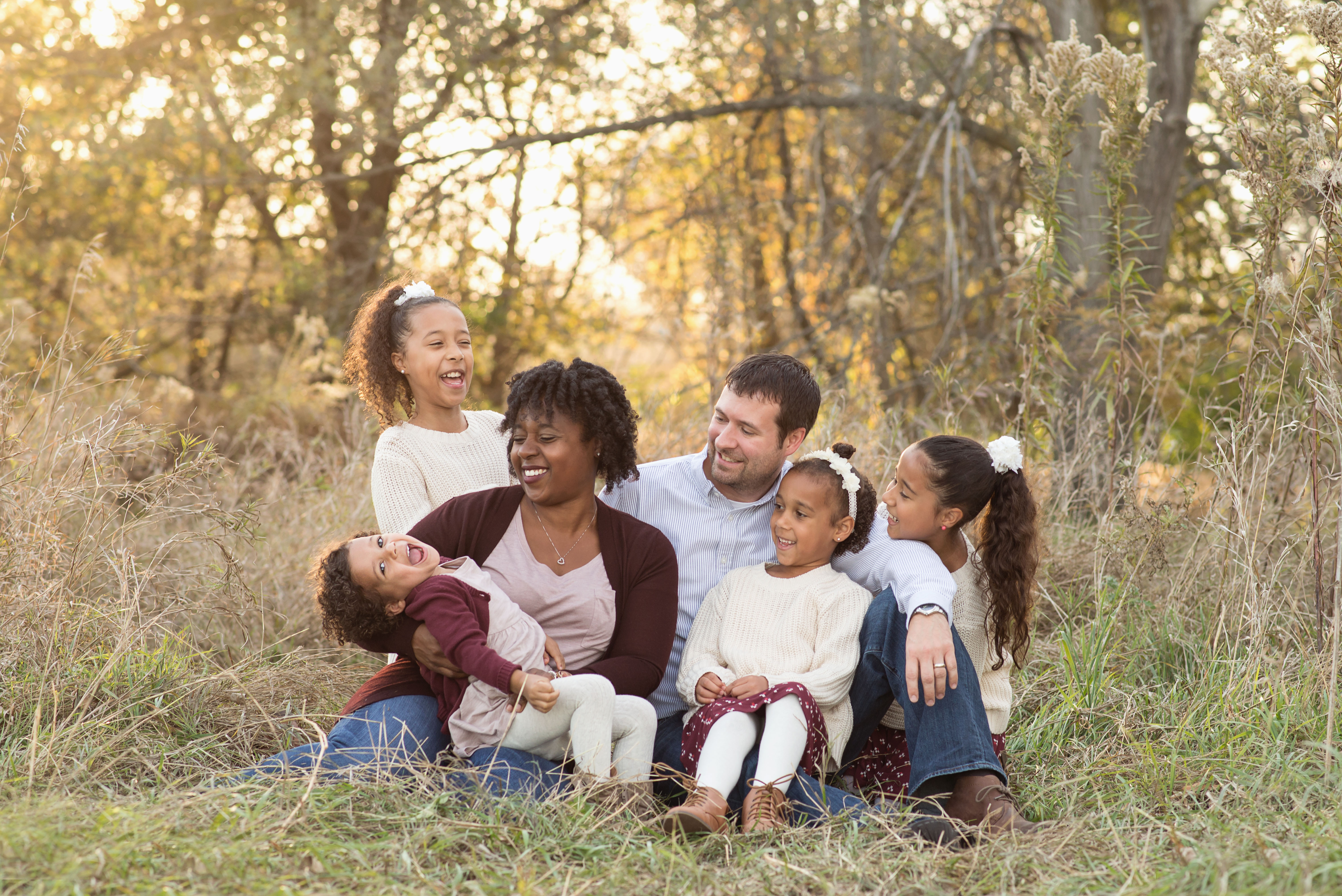 Family of six - Cedar Rapids child photography