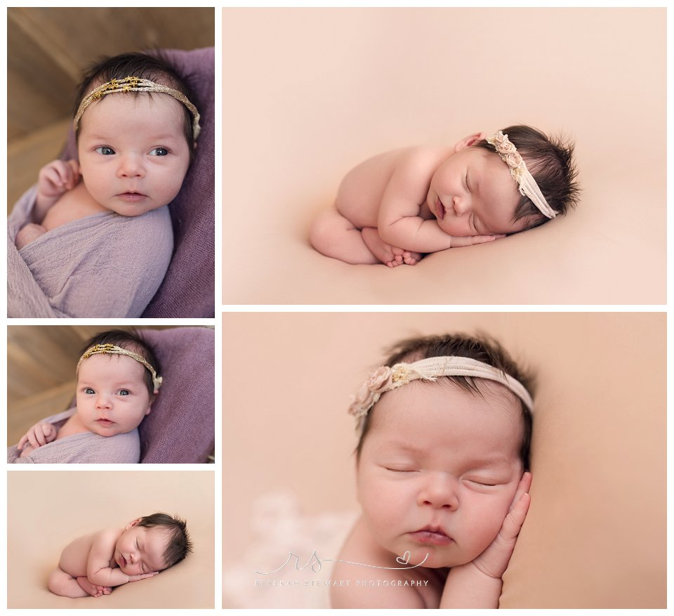gorgeous baby girl - Cedar Rapids newborn photographer