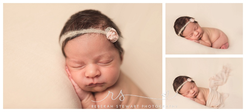 beautiful baby girl - newborn photographer Cedar Rapids