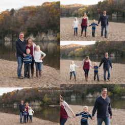Brother and sister on the beach { Cedar Rapids photographer }