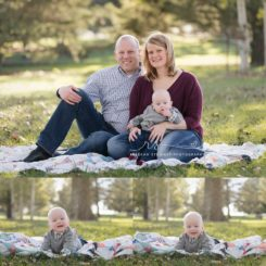 Sweet baby in the sunshine { Cedar Rapids photographer }